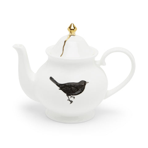 The Bird Teapot, Melody Rose Alternate View