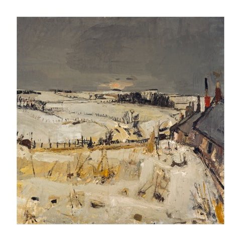 Snow Joan Eardley Christmas Card Pack (10 cards), National Galleries of Scotland