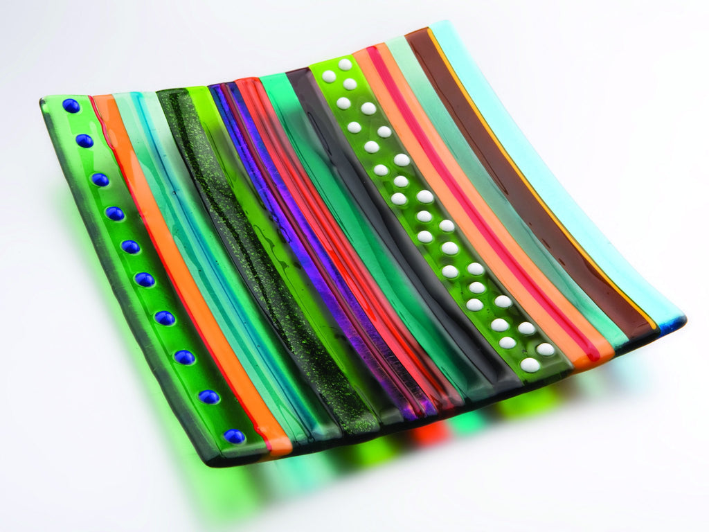 Hockney Inspired Spring Glass Dish, Royal Academy of Arts - CultureLabel - 1