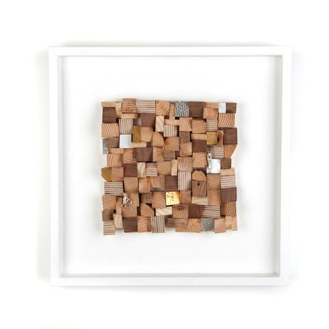 Town Squared, Stephanie Ray - CultureLabel - 1 (Full Image Natural Framed)