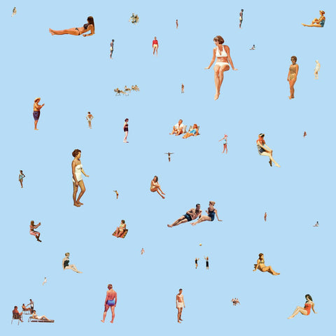 Bathers On Blue, Steven Quinn - CultureLabel