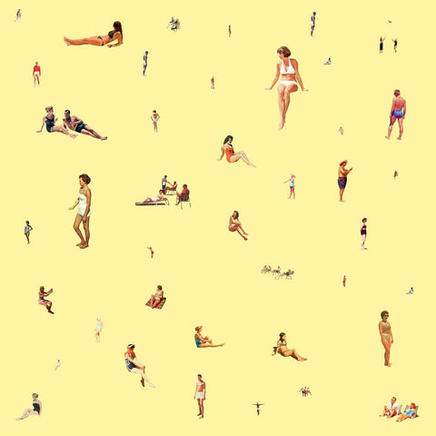 Bathers On Yellow, Steven Quinn
