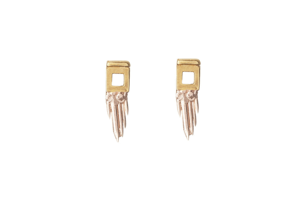 Sunrise Sungun Earrings, Ros Millar - CultureLabel - 1