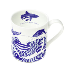 Swim With Whales Forever Mug, ARTHOUSE Meath