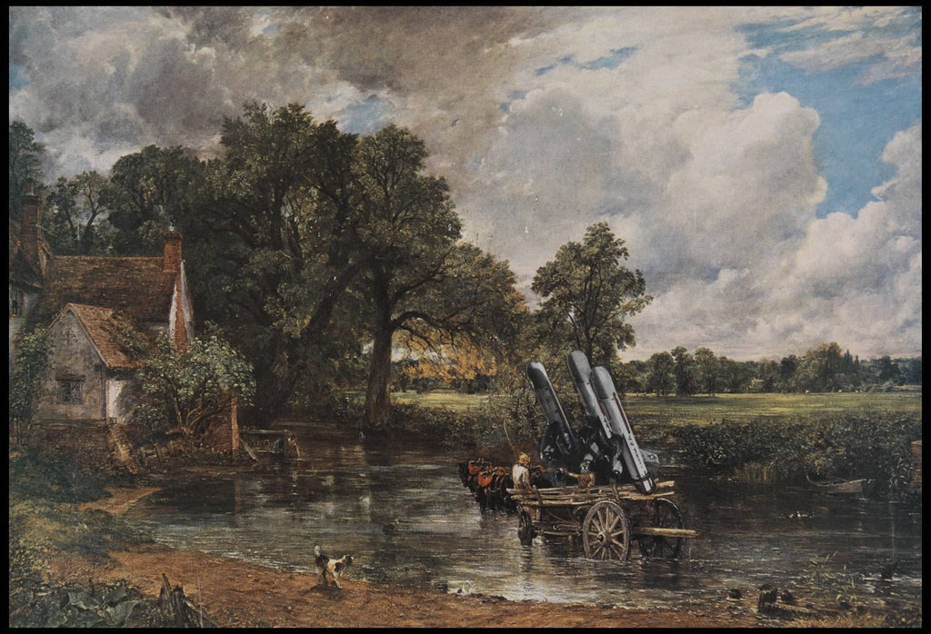 Haywain with Cruise Missiles, Peter Kennard - CultureLabel - 1