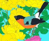 Bullfinch: Great Tit and Roses, Robin Duttson - CultureLabel - 2