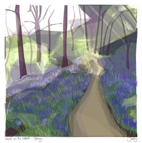 Walk in the Woods - Spring, Jill Ray - CultureLabel