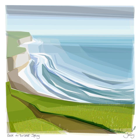 Walk on the Coast - Spring, Jill Ray - CultureLabel