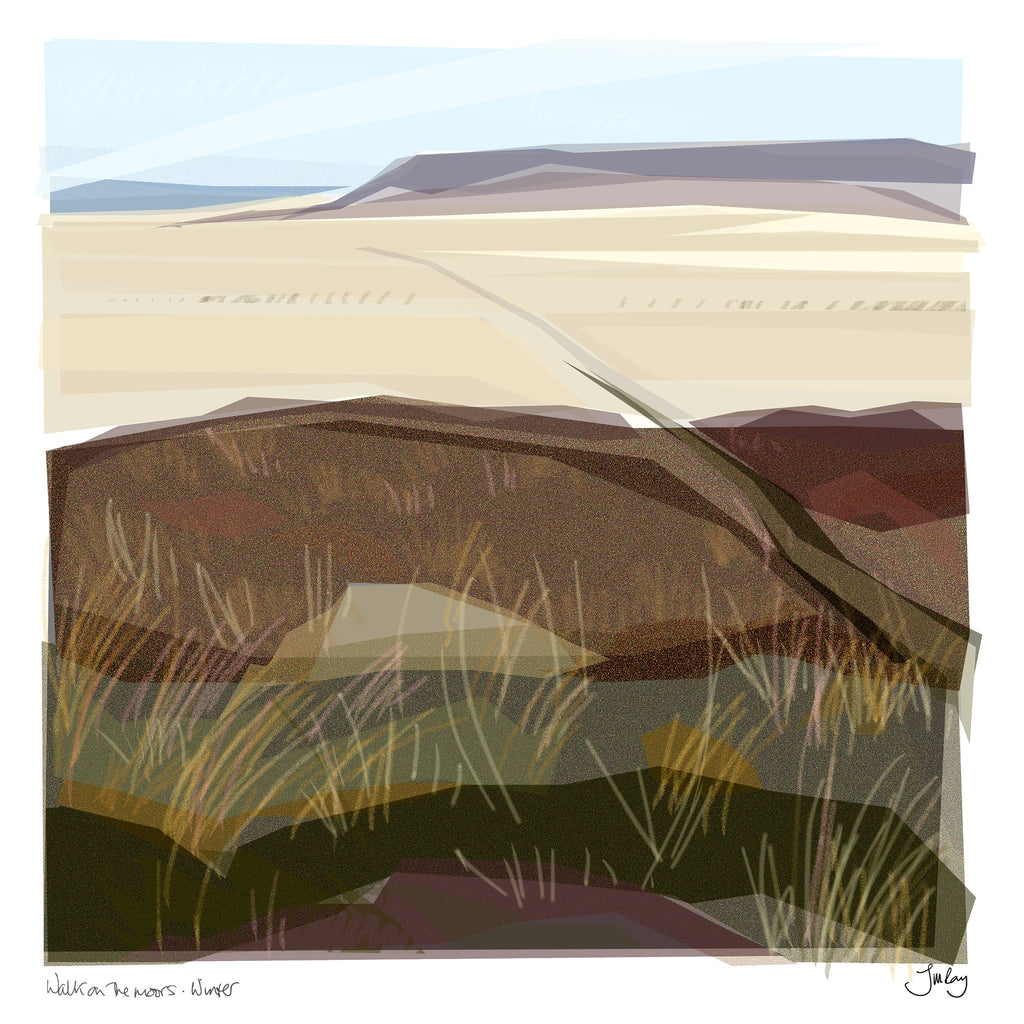 Walk on the Moors – Winter, Jill Ray - CultureLabel - 1