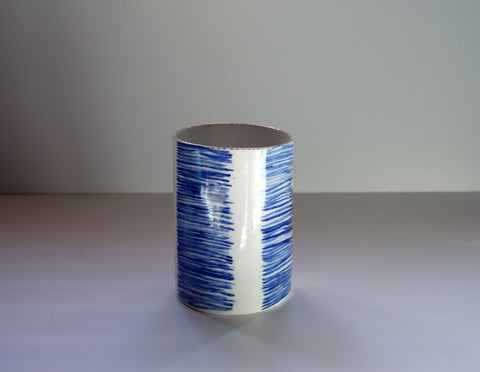 Cobalt Ceramic Vessel, Rebecca Killen - CultureLabel