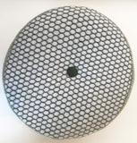 Olive Honeycomb Pattern Round Cushion, Janie Withers - CultureLabel - 1