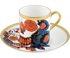 Inkhead Espresso Cup and Saucer, The New English