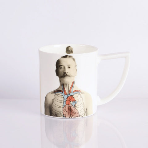 Anatomical Mug, The New English - CultureLabel