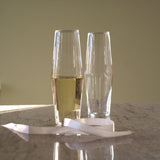 TOAST Set of 4 Champagne Glasses, HUTA - CultureLabel