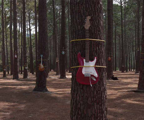 The Plea - Dreamers Stadium - Guitars, Storm Thorgerson Alternate View