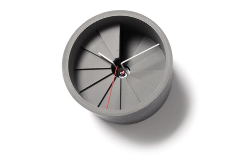 Concrete Wall Clock, Studio 22 - CultureLabel - 1