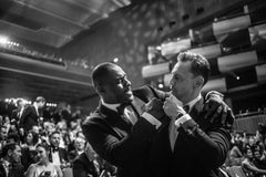 Idris Elba and Tom Hiddleston, BAFTA