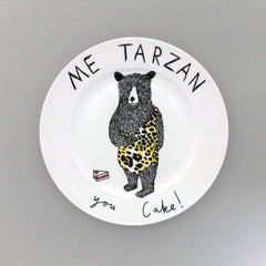 Me Tarzan, You Cake Side Plate, Jimbobart