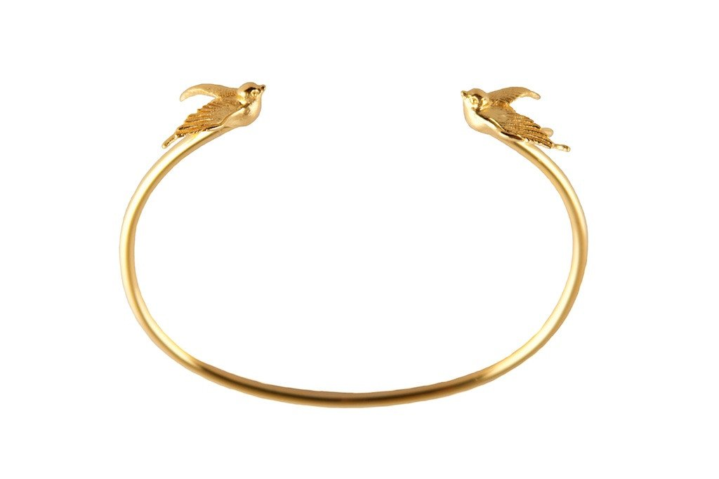 Gold Torc Bangle, Roz Buehrlen - CultureLabel - 1