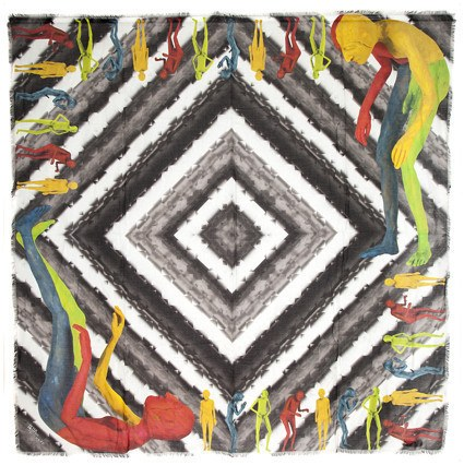 Limited Edition Scarf, Francis Upritchard & Peter Pilotto Alternate View