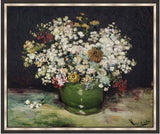Bowl of Zinnias and Other Flowers by Vincent Van Gogh 3d Reproduction, Verus Art - CultureLabel - 5