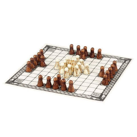 The Viking Game (Hnefatafl), National Museum of Scotland - CultureLabel - 1
