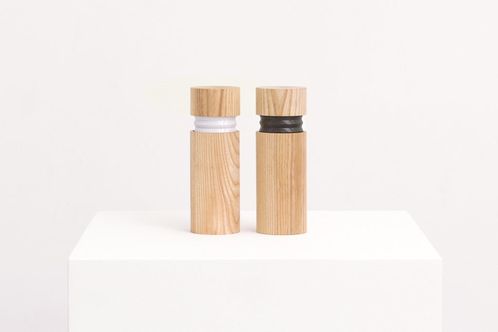 Bellow Salt and Pepper Grinders, Vitamin - CultureLabel