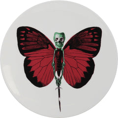 Lepidoptera Vix Cake Plate, The New English