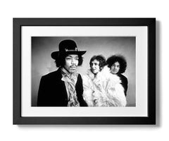 Jimi Hendrix, Noel Redding and Mitch Mitchell, Dezo Hoffmann