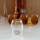 WIŚNIA Set of 4 Shot Glasses, HUTA - CultureLabel
