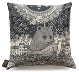 Bear in a Boat Cushion, Andy Wilx - CultureLabel - 1