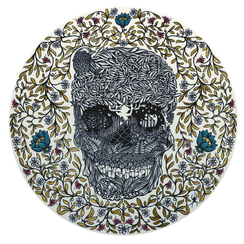 Hedgerow Skull, Andy Wilx - CultureLabel - 1