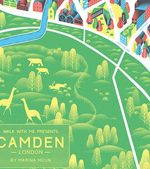 Camden Town Map, The British Library Alternate View