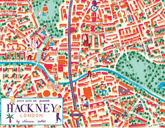 Hackney Map, The British Library Alternate View