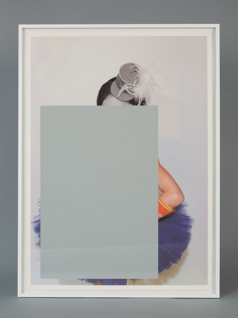 Untitled (rectangle with hat and arm), Julia Wachtel - CultureLabel - 1