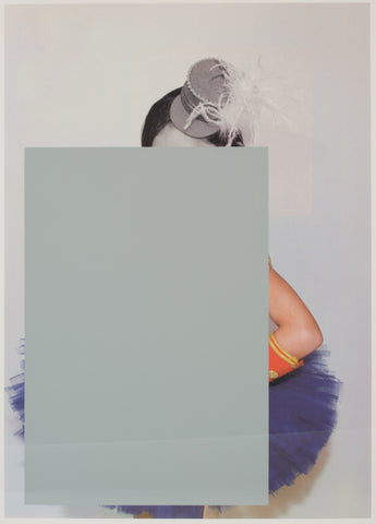 Untitled (rectangle with hat and arm), Julia Wachtel Alternate View