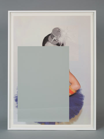 Untitled (rectangle with hat and arm), Julia Wachtel