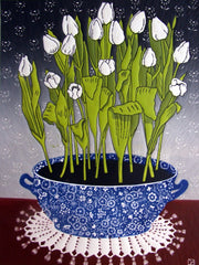 White Tulips, Diana Ashdown