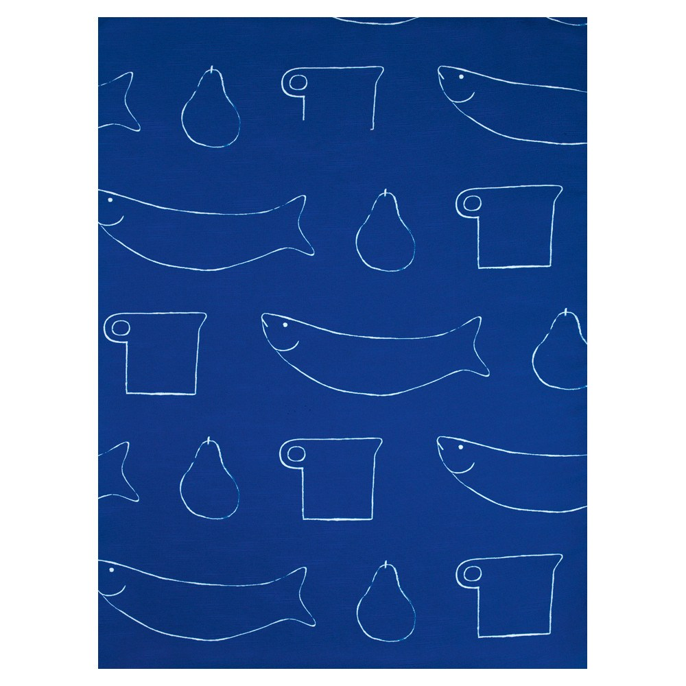 William Scott Blue Linen Table Cloth, Royal Academy of Arts - CultureLabel - 1