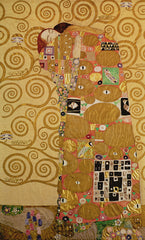 Fulfilment (Stoclet Frieze), Gustav Klimt Alternate View