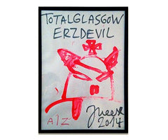 Total Glasgow Erz Devil, Jonathan Meese