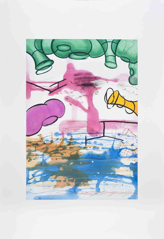 Three Etchings (#3), Carroll Dunham - CultureLabel