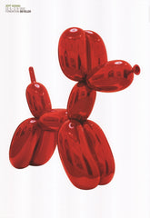 Balloon Dog (Red), Jeff Koons