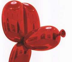 Balloon Dog (Red), Jeff Koons Alternate View