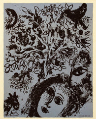 Couple in Front of a Tree, Marc Chagall Alternate View