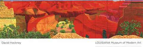 A Closer Grand Canyon, David Hockney - CultureLabel