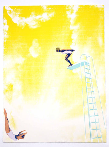Yellow Diving Board, Anna Marrow - CultureLabel