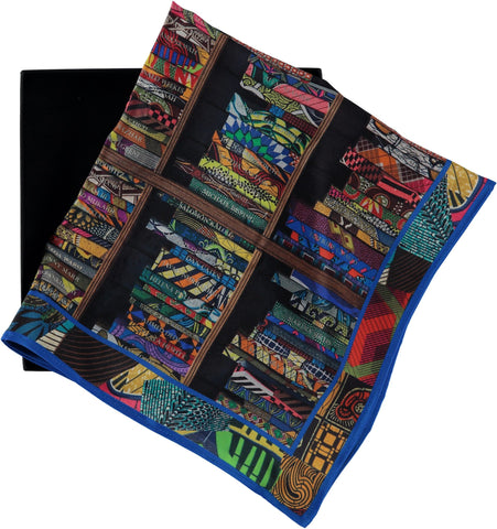 Silk Pocket Square, Yinka Shonibare Alternate View