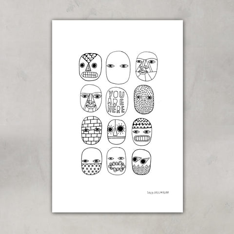 You Are Here, David Shillinglaw x Mind - CultureLabel