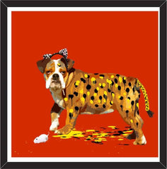The Dog Who Wanted To Be A Leopard, Carl Moore Alternate View